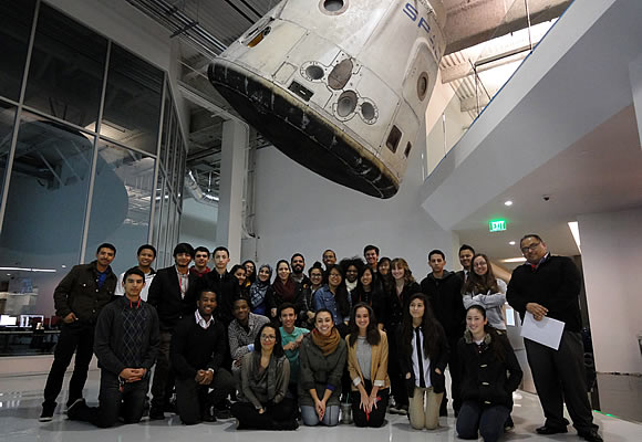 Educators in science exhibit