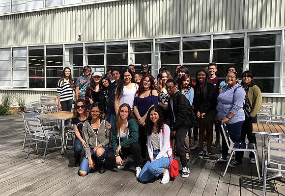 dvx students at internship