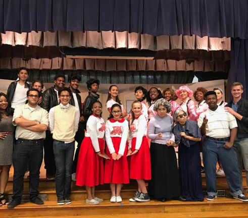 students theater performance