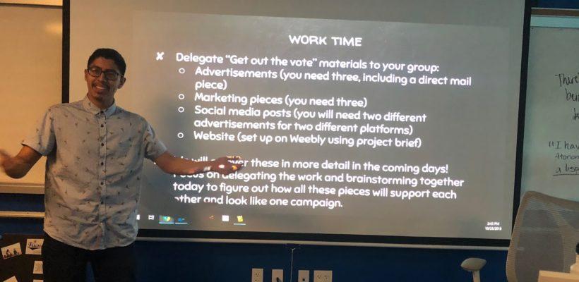 Presentations of Learning at Da Vinci Schools