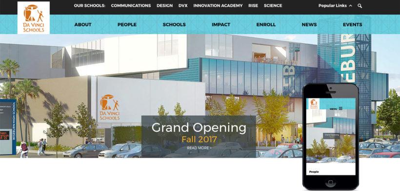Da Vinci Launches New Website