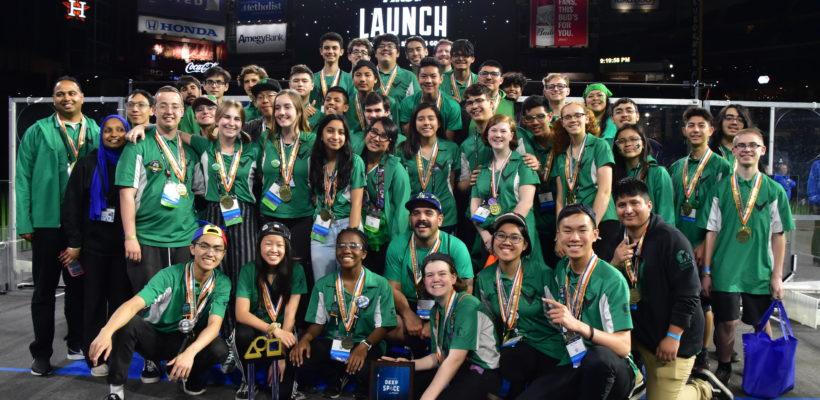 Da Vinci Schools Robotics Team Wins World Championships