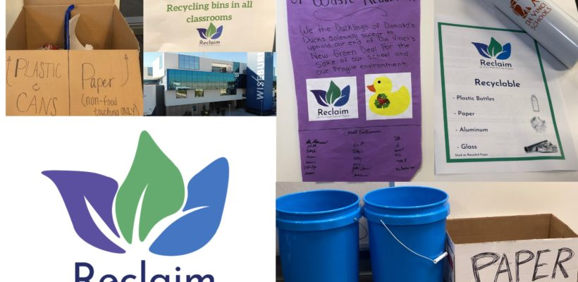 Project Reclaim: Da Vinci's Waste Reduction Program