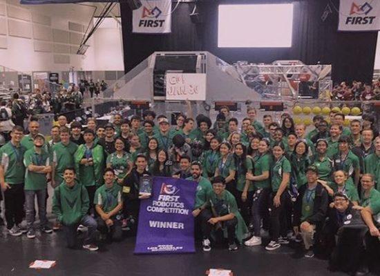 Da Vinci's Robotics Team 4201 Wins First Place at L.A. Regional