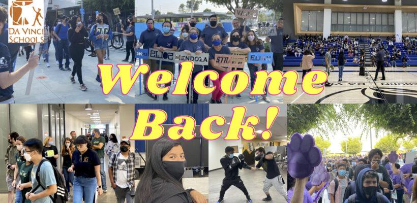 Da Vinci Welcomes Students #BackToSchool